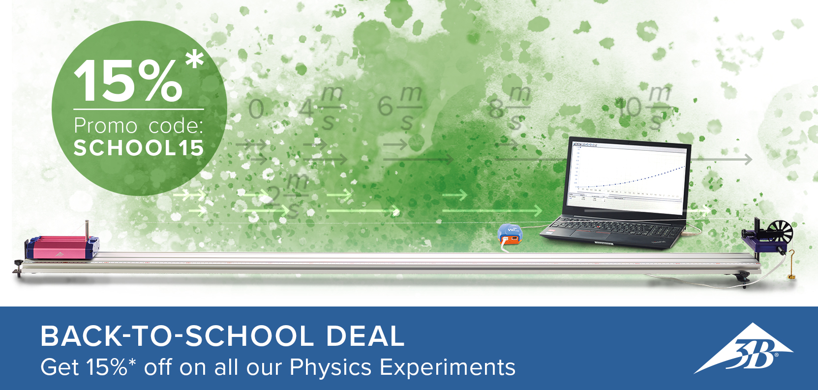 3B Scientific Back to School Promotion