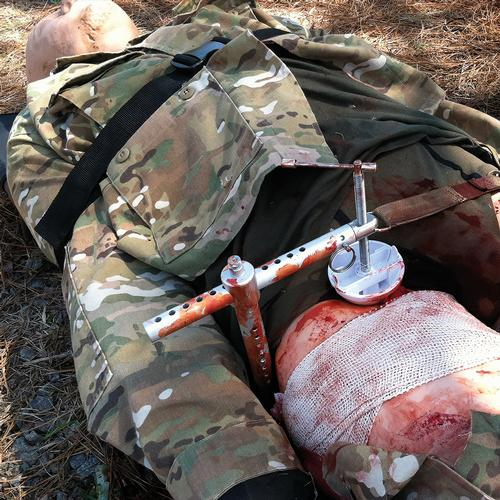 Tactical Combat Casualty Care Simulator with Major Vascular Injuries - TCCS 2, 1021381, TCCC Training Manikins