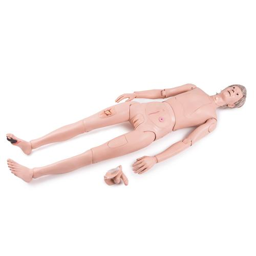 3B Scientific® Patient Care Manikin Basic, 1018817 [P11/1], Adult Patient Care