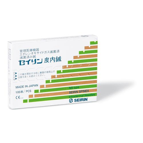 SEIRIN ® Spinex - 0,12 x 3 mm, 100 pcs. per Box., 1002461 [S-NS1203], Acupuncture Needles SEIRIN
