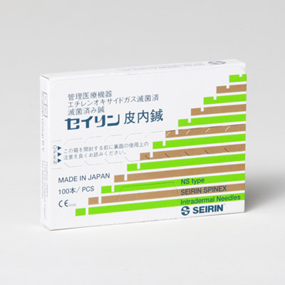 S-NS1406 SEIRIN Spinex intradermal needle 0,14mm x 6mm, 1002463 [S-NS1406], Acupuncture Needles SEIRIN