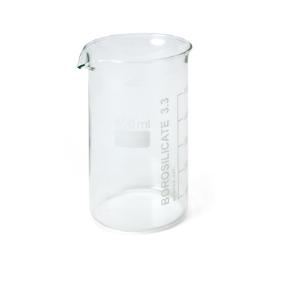 U14211: Set of 10 Beakers,600 ml, Tall Form