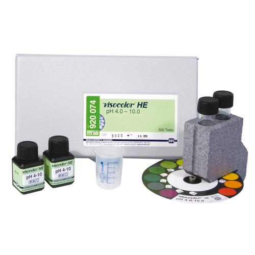 VISOCOLOR® HE pH 4-9, 1021141 [W12902], pH-Value Determination