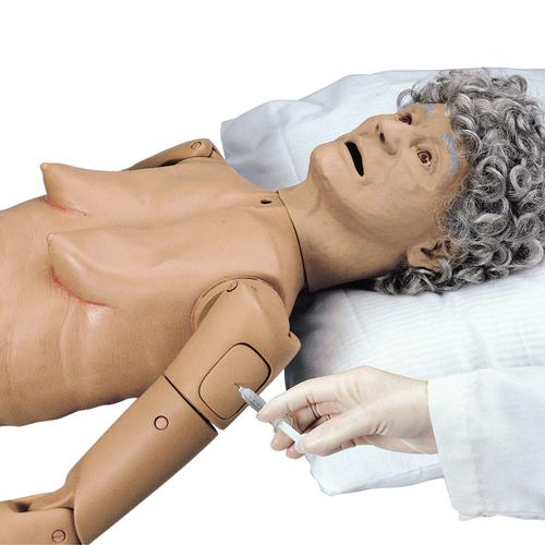 Basic GERi™ Nursing Skills Elderly-Care Manikin, 1005620 [W44077], Geriatric Patient Care