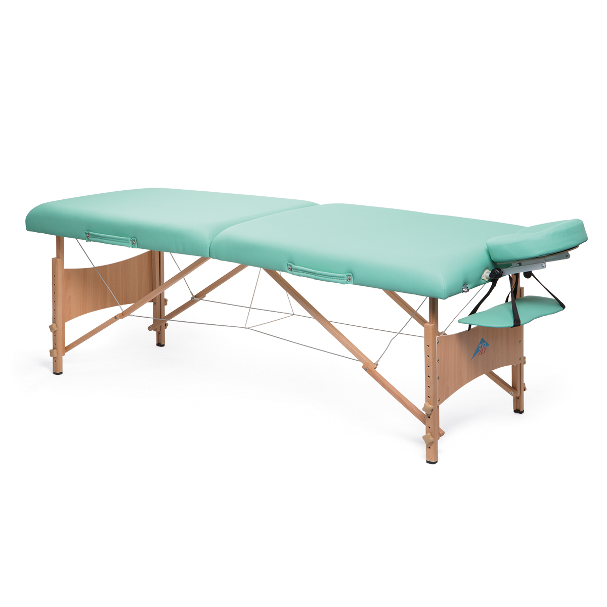 Deluxe portable massage table green 1013728 3b for Massage table