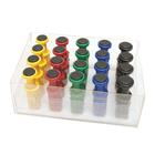 Digi-Flex® Multi™ - 20 Additional Finger Buttons w/ Box - 4 Each: Yellow, Red, Green, Blue, Black, 1019853, Hand Exercisers