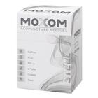 MOXOM Steel - steel spiral handle - with guide tube, 1022108, Acupuncture Needles MOXOM