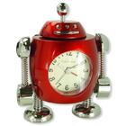 U49274R: Tank Robot Alarm Clock, Red