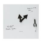 U49789W: Pop Quiz Clock, Whiteboard