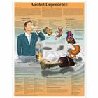 Alcohol Dependence Chart, 4006727 [VR1792UU], Drug and Alcohol Education