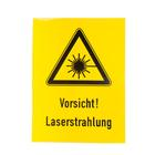 Laser Warning Sign,W14215