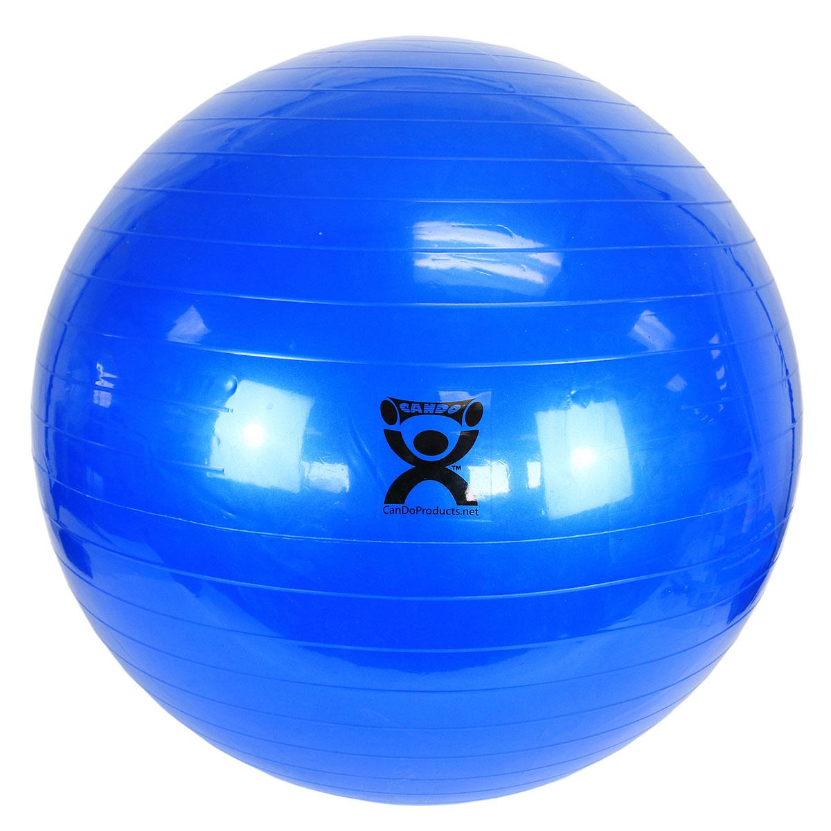 Balance Ball Blue: Cando Exercise Ball, Blue, 85cm
