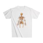 Anatomical T-Shirt Skeleton, XL,W41011