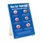 Why PAP Tests Can Save Your Life Easel Display, 1018296 [W43132], Women's Health Education