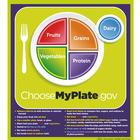 MyPlate Poster with Key Phrases, 1018319 [W44791P], Nutrition Education