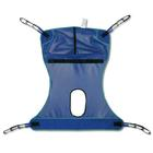 W49831M: Mesh Full Body Sling with Commode Opening, Medium